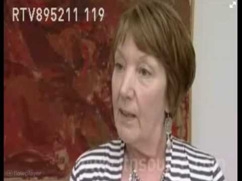 Syd Barrett's sister (Rosemary Breen) interviewed at her brothers art exhibition (London, 2011)