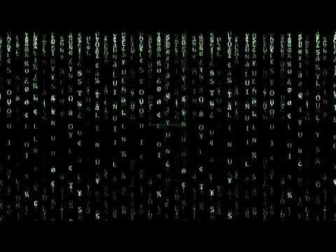 Matrix Rain Code - Myhiton