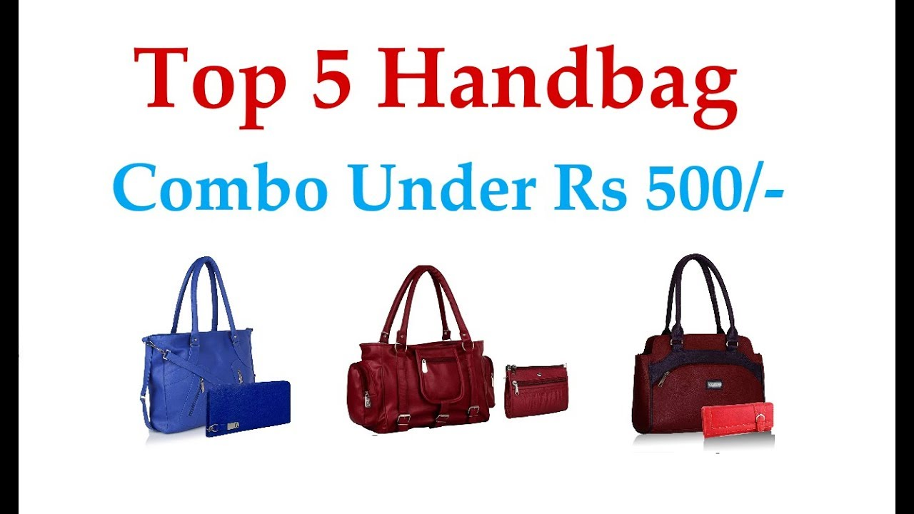 Top 5 Handbags Under Rs 500 Highly Rated Best Quality