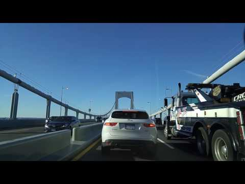 Driving from Bayside in Queens to Baychester in the Bronx,New York