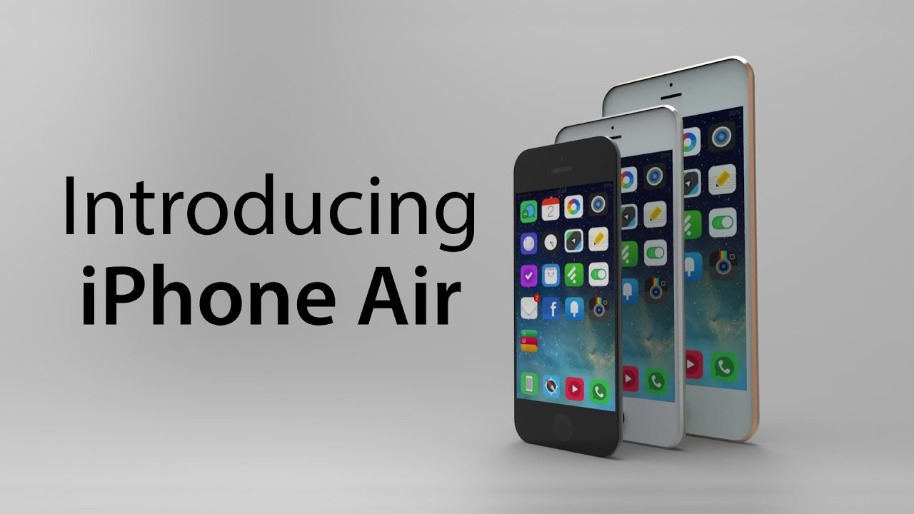 Introducing iPhone Air - Concept video