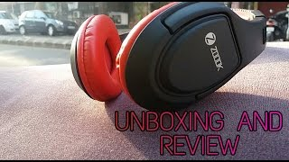 Zoook Zb rocker i-fit bluetooth headphones unboxing and review best budget buy headphone