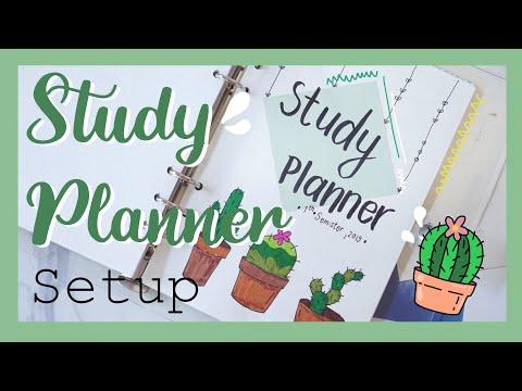 มาทำ Study Planner ต้อนรับเปิดเทอมกัน | miniAsma
