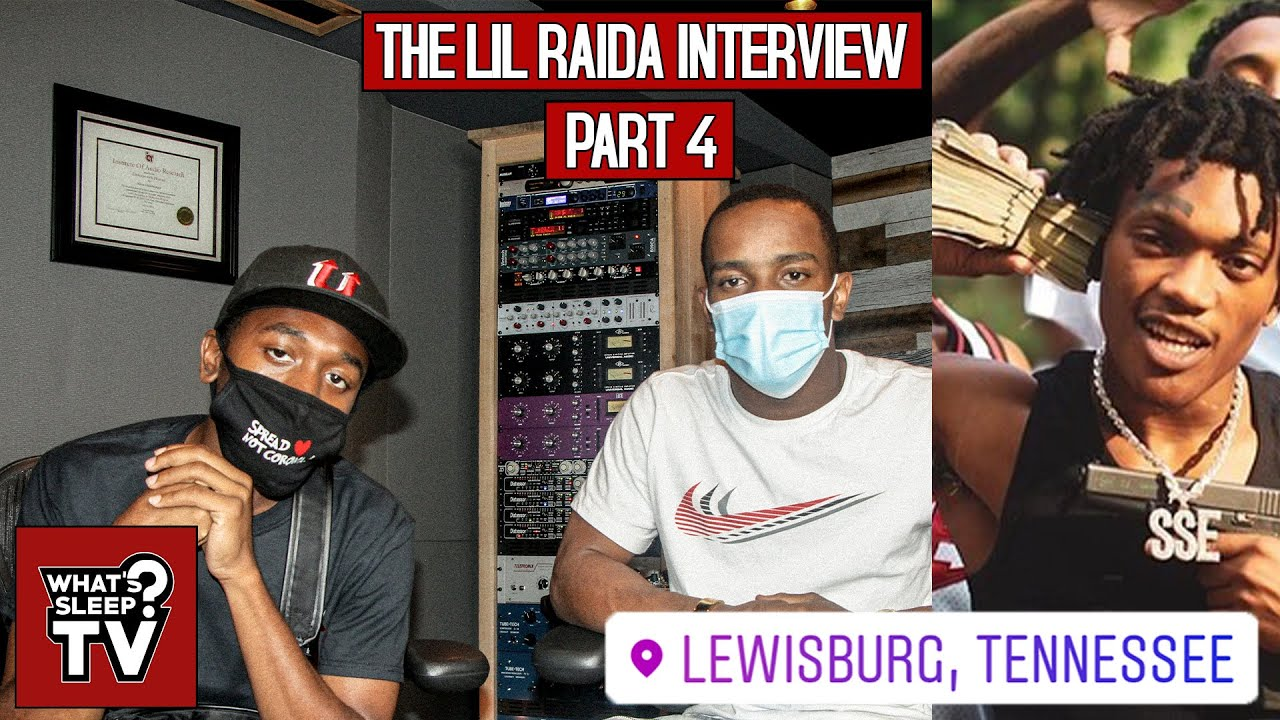 "Lil Raida Shouts Out Luh Stain & Talks Being On Lists ""It Pushed Me & Gave Me A Jitter"""