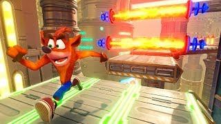 Crash Bandicoot N. Sane Trilogy DLC - Future Tense (All Gems)