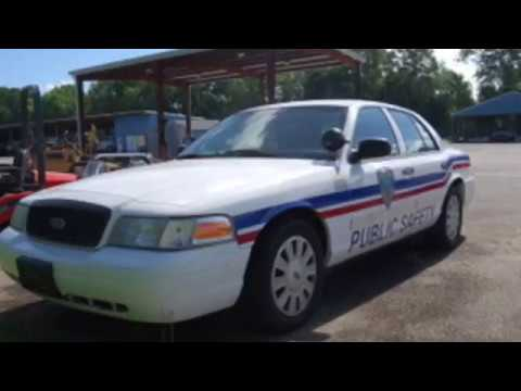 2009 Ford Crown Victoria police car for sale scauctions.com South Carolina Auction
