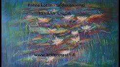 Juhani Alakärppä, baritone, Outi Nissi, piano and Jaana Kokko, artist
