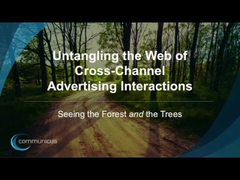 Untangling the Web of Cross-Channel Advertising Interactions (The Quirk's Event 2016)