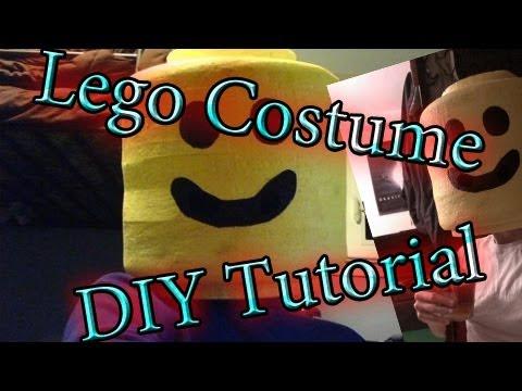 Diy Lego Costume Tutorial Youtube