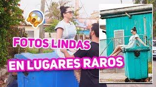 FOTOS COOL EN LUGARES RAROS - Reto / Challenge - El Mundo de Camila Guiribitey