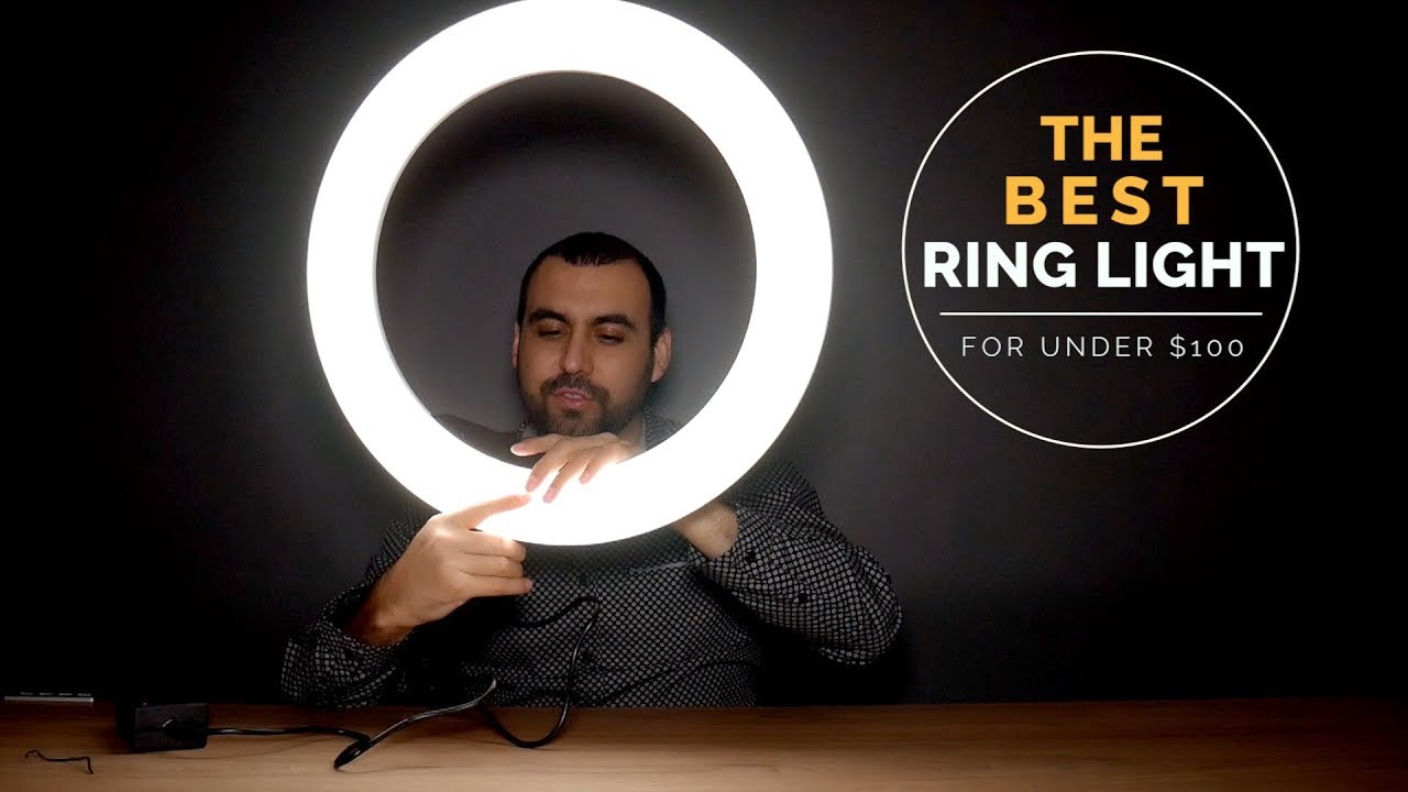 Ring Light Makeup