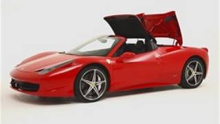 Ferrari 458 Spider Video
