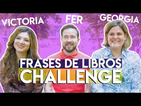 FRASES DE LIBROS CHALLENGE ☆ Con Victoria, Fer Y Geo
