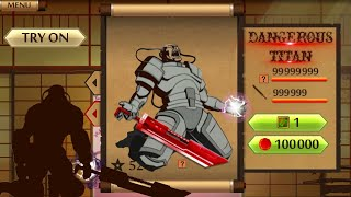 Shadow Fight 2 The Most Powerful Dangerous Titan - The Destroyer Of Worlds