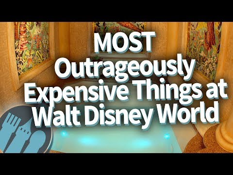 The MOST Outrageously Expensive Things at Walt Disney World!
