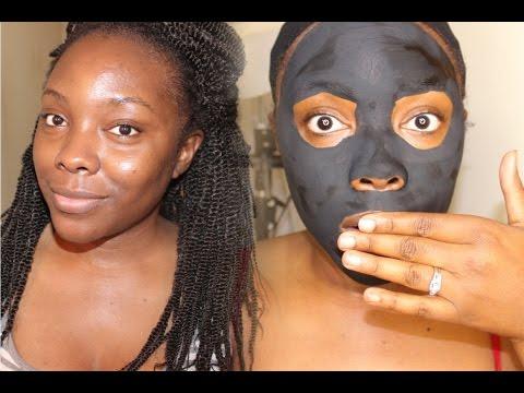 Diy charcoal blackhead mask without glue