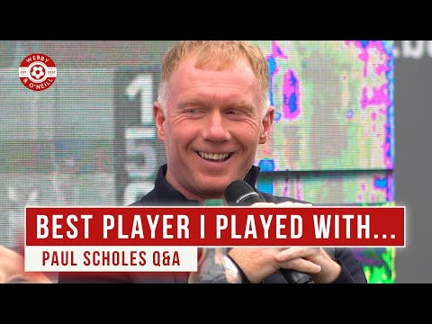 Paul Scholes Q&A: Best Player I Played With...