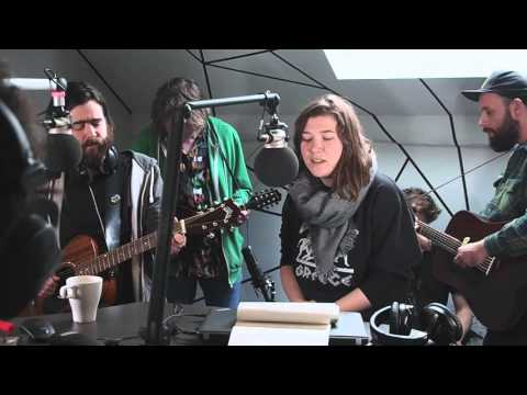 """The Burning Hell """"Fuck The Government, I Love You"""" live (acoustic) @FluxFM"""