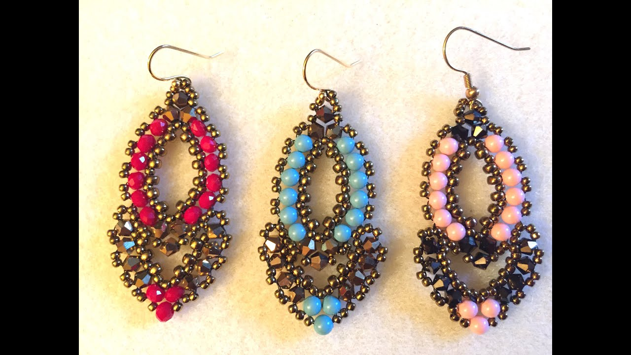 dangling native aztec tribal american beaded style geometric large itm indian jewellery earrings