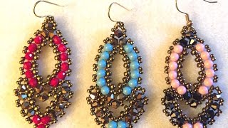 Video Tutorial   Beaded Earrings