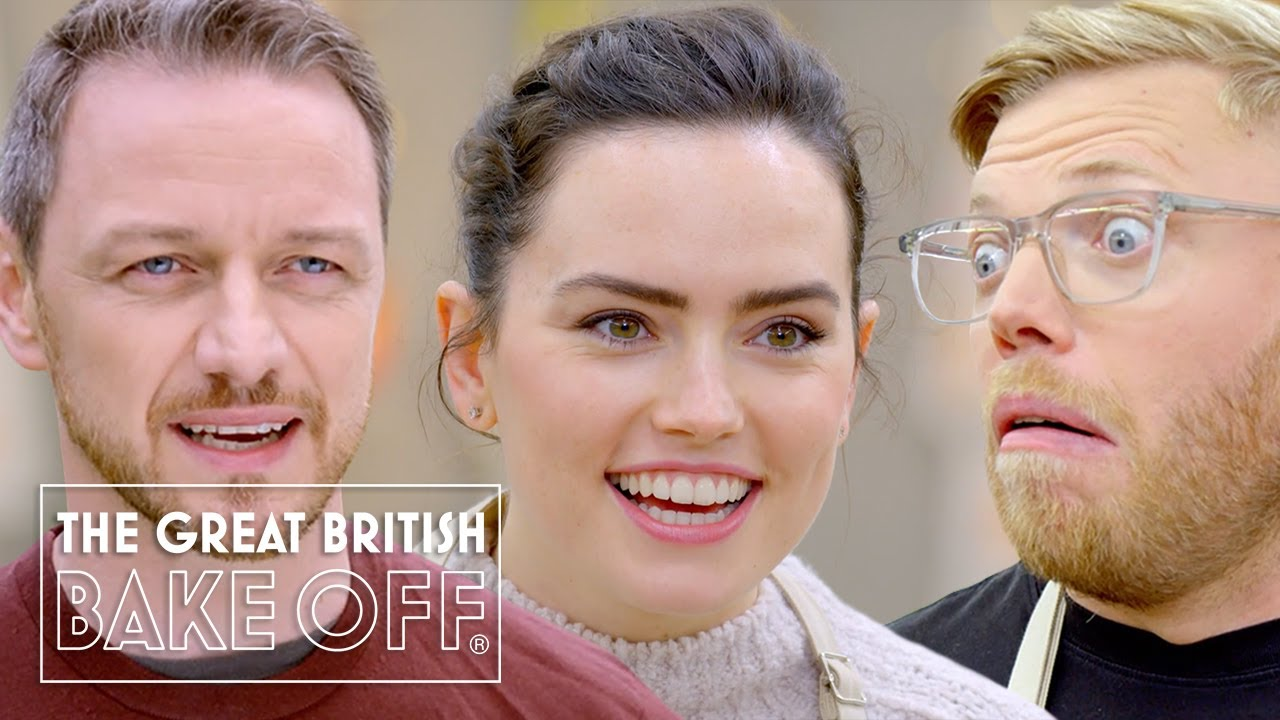 Download Best of Celeb Bake Off 2021 ft. James McAvoy, KSI, Daisy Ridley & more!