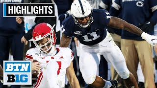Micah Parsons to Opt Out of 2020 Season to Focus on NFL Draft | Highlights | Big Ten Football