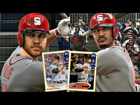 DIAMOND ADAM JONES & CHRIS DAVIS DEBUT!! MLB The Show 17 Diamond Dynasty