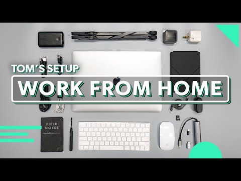 Work From Home Setup That Fits In Your Bag | Tom's Tech Gear For Working Remotely