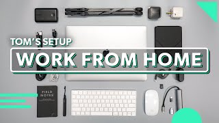 Work From Home Setup That Fits In Your Bag   Tom's Tech Gear For Working Remotely