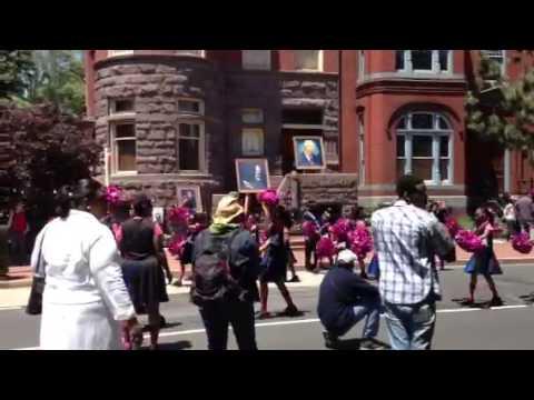 United House of Prayer Memorial Day Parade 2013 Clip 6