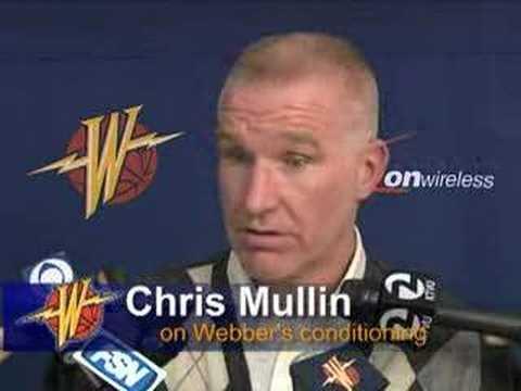Chris Mullin Talks About Signing Chris Webber