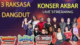 Konser Akbar...! 3 Raksasa Orkes Dangdut New Monata, Adella, dan New Kendedes | Live Streaming