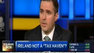 IDA Ireland CEO Martin Shanahan at CNBC Squawk Box: Investors See Green in Ireland