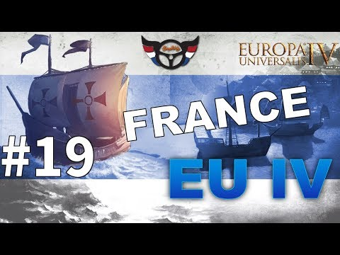 EU4 France - Big Blue Blob Achievement Run - ep19