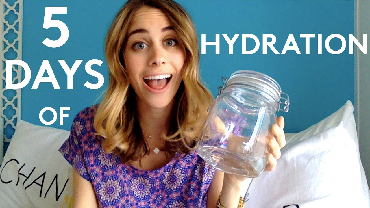 5 Days Of Hydration | Try Living With Lucie | Refinery29 ...