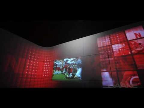 NEBRASKA FOOTBALL EXPERIENCE ROOM