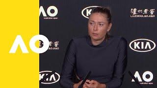 Maria Sharapova press conference (3R) | Australian Open 2019