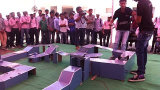Robo Race Competition at Adarsh Institute Of technology & Research Centre Vita during CREO WORLD