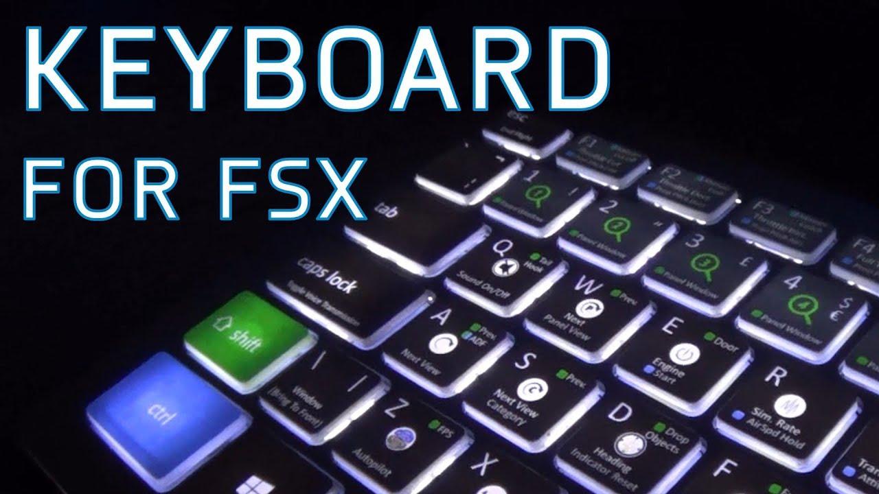 Flight Simulator X Keyboard Review   Editors Keys (Sponsored)