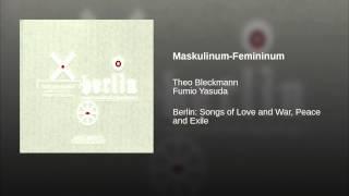 Maskulinum-Femininum