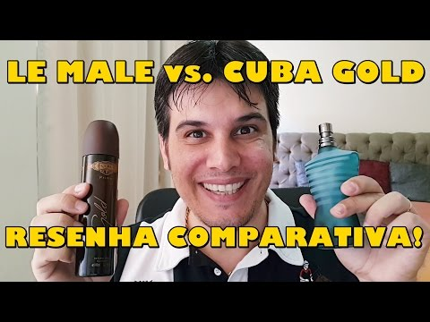 LE MALE vs. CUBA GOLD - Resenha Comparativa!