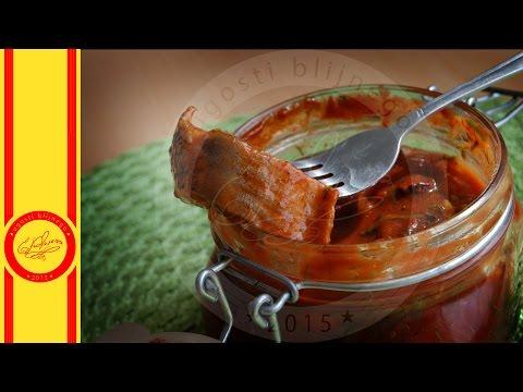 Сельдь в томатном маринаде - Угости Ближнего - Евгения Ковалец - эпизод 62