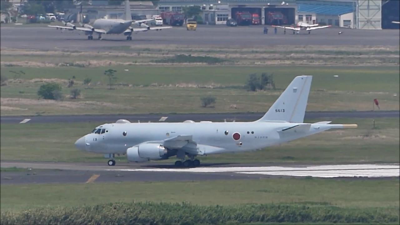 鹿屋航空基地 P-1 #5513 エアー...