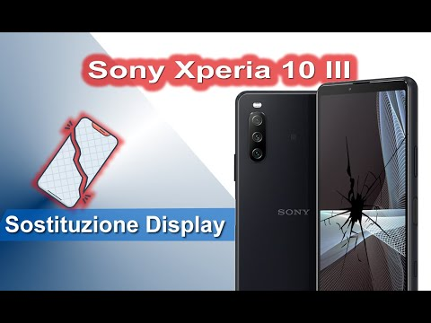 Sony Xperia 10 III Sostituzione display - Display Replacement