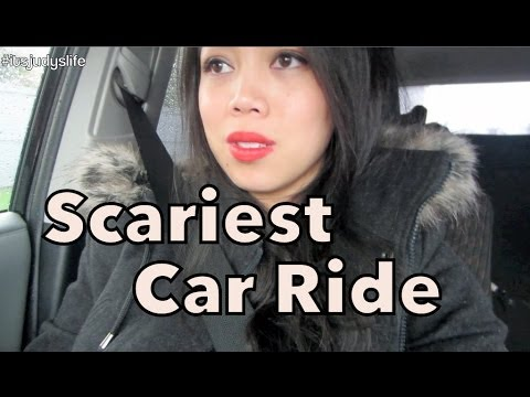 Scariest Car Ride! - May 18, 2014 - itsJudysLife Daily Vlog