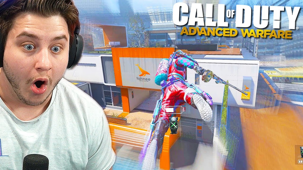 Returning to ADVANCED WARFARE after 6 years, just to be a CLOWN! (S1X MODS)