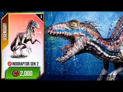 New Indoraptor Gen 2 Jurassic World Youtube