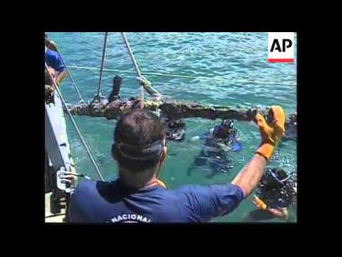 Abandoned ship by Christopher Columbus found in Panama