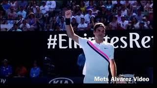 Last Game Federer vs Fucsovics 4R AO2018