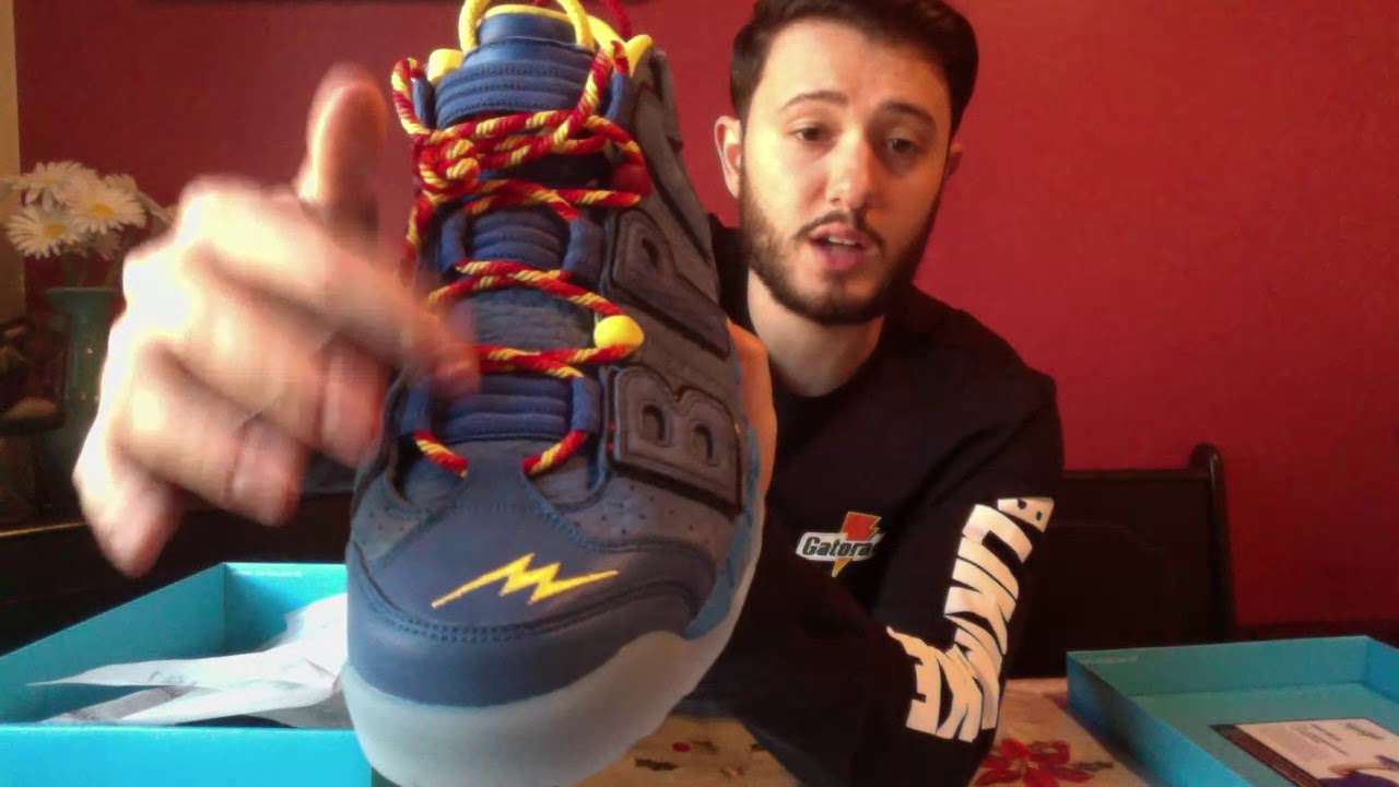 08cffee1f1c Nike Air More Uptempo 96 Doernbecher Unboxing - YouTube